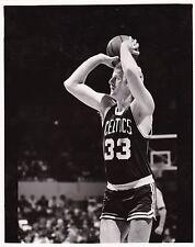 "Vintage Larry Bird Boston Celtics Black & White 8"" x 10"" Basketball Photo"