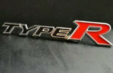 Car TYPE R 3D Metal Emblem Refitting Badge Sticker Car Styling Auto Decor