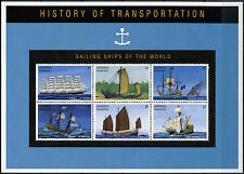 Grenadines Of Grenada 1995 SG#2081-6 Sailing Ships MNH Sheet #A89574