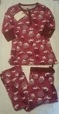 Munki Munki 2 pc Pajama Set Pajamas YARN KITTIES CATS XL XLarge Cotton Knit