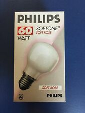 PHILIPS Glühlampe SOFTONE SOFT ROSE E27 T60 60W