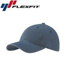 Flexfit Garment Washed Baseball Cap S/M Navyblau