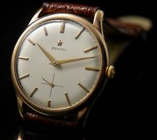rare VINTAGE ZENITH STELLINA HAND WINDING MEN'S CLASSIC WATCH MONTRE