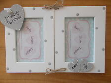 Personalised Gift Christmas Me And My Big Brother Double Photo Frame 6x4