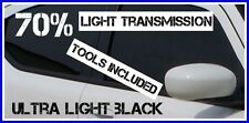ULTRA LIGHT BLACK 70% LIGHT TRANSMISSION CAR WINDOW TINTING FILM 6m X 75cm TINT