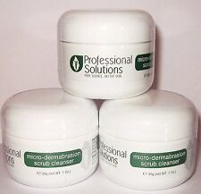 3 X 1oz MICRODERMABRASION CRYSTALS ACNE PRONE,DRY,STRETCH MARK & PROBLEM SKIN