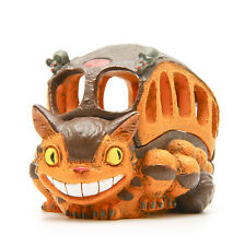 Anime My Neighbor Totoro Cat Bus Resin Figure Jewelry Storage Box Container