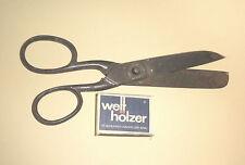 große Alte Schneiderschere scissors D gemarkt cisailles cesoie Schere