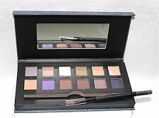 Mally Ageless Eyes Eyeshadow Palette 12 Shades & Double Ended Brush New in Box