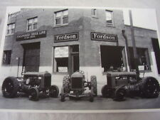 1930 FORD FORDSON TRACTOR DEALER  12 X 18  LARGE PICTURE  PHOTO