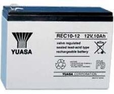 PACK of 3 | YUASA 12V 10Ah RECHARGABLE BATTERIES - ELECTRIC BIKE