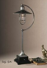 Modern Retro Industrial Metal Lantern Lamp