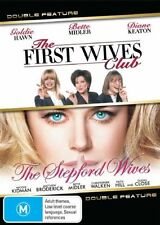 The First Wives Club / Stepford Wives (DVD, 2009, 2-Disc Set) = PAL 4