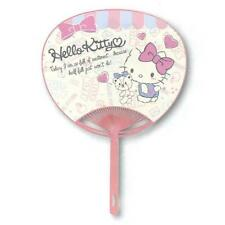 New Hello Kitty Character Fan Uchiwa from JAPAN