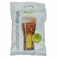 Muntons Carbonation Drops 80 160g Sugar Tablets for priming beer & cider bottles