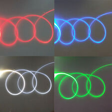 5meters  Side Glow Fiber Optic Cable 2.0mm Decoration Light Car Light