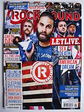LET LIVE Aug. 2013 ROCK SOUND  GREEN DAY  ALL TIME LOW PARAMORE + 14 TRACK CD!