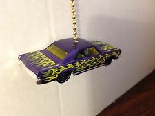 Hot wheels 1965 Pontiac GTO Hand Made Ceiling  Fan and Light  Pull, L@@K