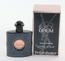 Black Opium by YSL Mini 0.25oz/7.5ml Edp Splash Mini For Women  New In Box