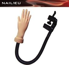 Practice Hand with Case holder for Coach Manicure Plastic Hand