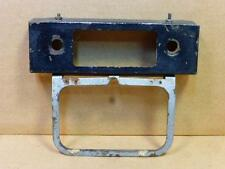 Porsche 356 Radio Face Plate & Halda Speed Pilot Bracket Mercedes Benz Rally
