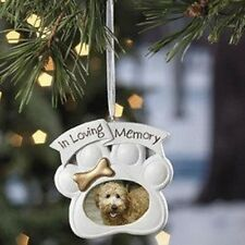 Loving Memory Dog Memorial Christmas Ornament Photo by Oriental Trading XMAS