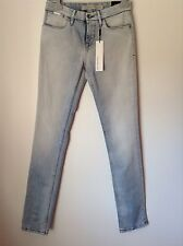 BNWT 100% Auth By Calvin Klein Ladies Light Blue Jeans With Logo. 26 RRP £129