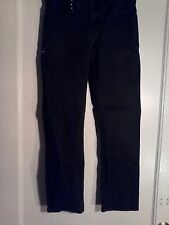 WOMENS QUICKSILVER JEANS SUPER SKINNY BLACK SZ 28W 27L Size 27 on  tag 28 X 27
