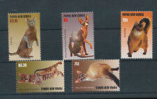 PAPUA New Guinea PNG 2005 CATS Wildlife MNH (5 Stamps)(PAP30)