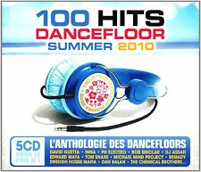 100 Hits Dancefloor Summer (NEW 5xCD) Swedish House Mafia David Guetta Meck Inna