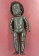 Vintage collection ethnique noir pour bébé poupée avec cheveux
