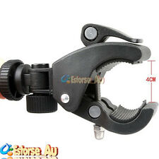 Adjustable Bike Bicycle Handlebar Mount Clamp Bracket Tripod For DSLR Camera DV