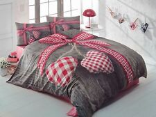 3D Love Box 100% Cotton Duvet Cover Bedding Set Bed Linen Queen