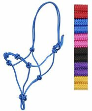 Great HOT RED Color Horse Size Rope Halter Knotted Nose New Horse Tack