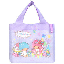 2016 Sanrio Little Twin Stars Foldable Reusable Tote Shopping Bag