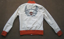 Womens Harley Davidson Signature Nylon Jacket Live to Ride Ride Live Size Small