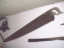 vintage 55in blade superior 2 man cross cut logging saw