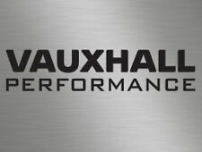 Vauxhall Performance Car Vinyl Decals Stickers, Race, Van, Door Stack, Window