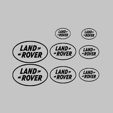 8x Land Rover Car/Vehicle Vinyl Stickers Decal Graphics Kit