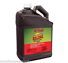 Glyphosate 41% Herbicide w/ Surfactant 1 Gal Super Conc Kills Weeds and Grasses