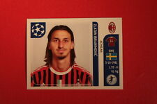 PANINI CHAMPIONS LEAGUE 2011/12 N 514 IBRAHIMOVIC MILAN WITH BLACK BACK MINT!!