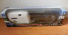 NEWRAY 1/43 FORD PICKUP TRUCK WITH SINGLE HORSE TRAILER NEW IN BOX