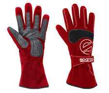 Sparco K F1 Go kart Racing Gloves    Red   Size X Large        CIK