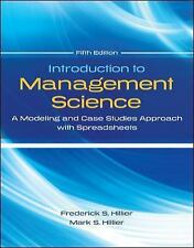 FAST SHIP - FREDERICK HILLIER 5e Introduction to Management Science: A Model BL8