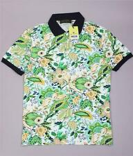 Brand New  Green Etro Short Sleeve Polo T-Shirt Size-M