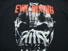 Evil Rising Batman The Dark Knight Rises Movie File Comic Book Black T Shirt L