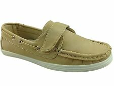Cushion Walk Leather Lined Easy Fit Boat Shoe- Beige UK6 EU39 JS15 45