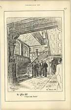1888, Cutler's Hall, T Tayler Smith T Raffles Davison, Staircase Hall