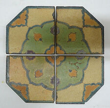 Solon & Schemmel Vintage 4-Tile Set California