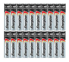 NEW FRESH 20x Energizer AAA Max Alkaline E92 Batteries Made in USA Exp. 12/2026